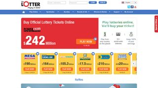 theLotter: Play Lottery Online | Lotto Tickets and Results