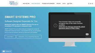SMART Systems Pro   The Restaurant Expert