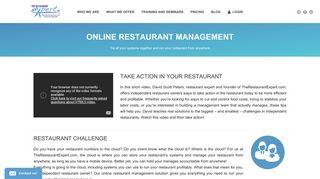 Restaurant Management   The Restaurant Expert