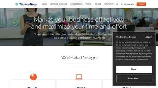 Website Design   ThriveHive