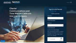 SpectrumBusiness.net - Sign In