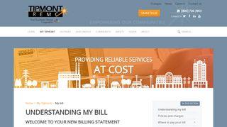 My bill - Tipmont REMC