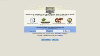 Title Advantage - Sponsored by the Orange Coast Title Family of ...