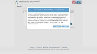 eTAG - Texas webDEALER - TxDMV.GOV