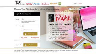 TJX Rewards® Platinum MasterCard® - Synchrony Bank