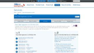 Direct Debit Application via SCB Bank ATM - TMB Asset Management ...