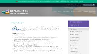 MLS System - Triangle MLS