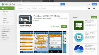 TomTom WEBFLEET Mobile - Apps on Google Play