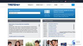 Customer Support   TRENDnet