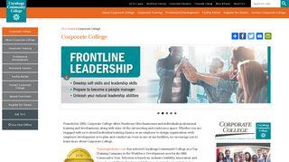 Corporate College: Cleveland, Ohio