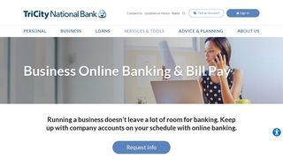 Business Online Banking & Bill Pay | Tri City National Bank ...