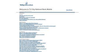 Tri City National Bank Mobile