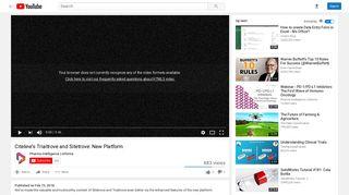 Citeline's Trialtrove and Sitetrove: New Platform - YouTube