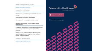 Datamonitor Healthcare | In-depth research and expert analysis of the ...
