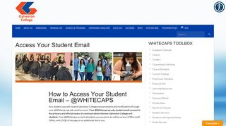 Access Your Student Email - Galveston College
