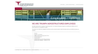 Triumph Aerostructures - Vought Aircraft Division - Employees / Retirees