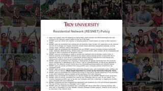 Trojan Web Express - Troy University