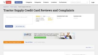 7 Tractor Supply Credit Card Reviews and Complaints @ Pissed ...