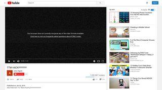 TTM HACK!!!!!!!!!!!!! - YouTube