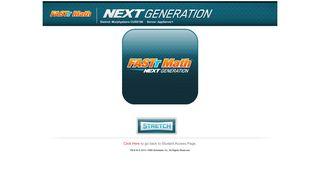 FASTT Math Next Generation - Scholastic Student Access