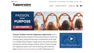 Join Us - Tupperware