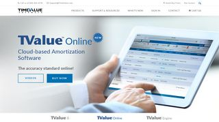 TValue Online - Cloud-based Amortization Software | TimeValue ...