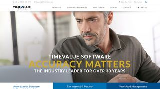 TimeValue Software - TValue and TaxInterest software