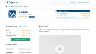 TValue Reviews and Pricing - 2019 - Capterra
