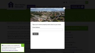 Apply for a home or garage - Your Homes Newcastle
