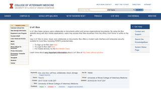 U of I Box - University of Illinois Unified Knowledgebase