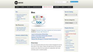 Box - UIC ACCC - University of Illinois at Chicago