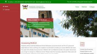 Makerere University E-Learning Environment