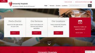 University Hospitals: Nationally Ranked Healthcare & Hospitals in ...
