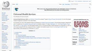 Universal Health Services - Wikipedia