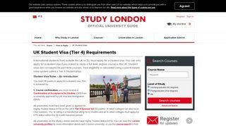 UK Tier 4 Student Visa Advice - A Simple Guide - Study London