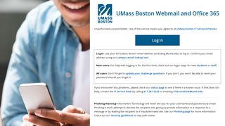 Webmail for UMass Boston Students, Faculty, and Staff