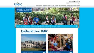 Residential Life - University of Missouri - Kansas City