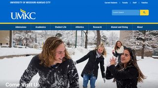 University of Missouri - Kansas City: Home