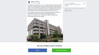 UMass Lowell - The UMass Lowell website (uml.edu), e-mail ...