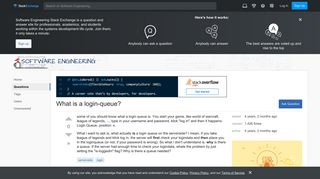server side - What is a login-queue? - Software Engineering Stack ...