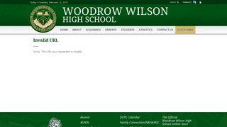Usefull links - Woodrow Wilson High School