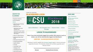 Blackboard Login   Cleveland State University