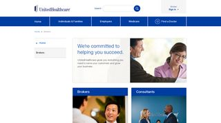 Brokers: We're committed to helping you succeed.   UnitedHealthcare