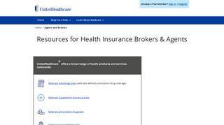 Health Insurance Broker & Agent Resources   UnitedHealthcare®