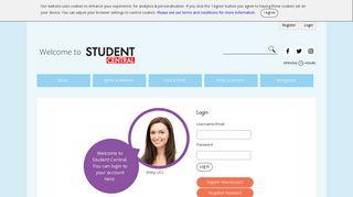 Login - Student Central London
