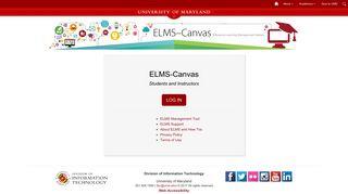 ELMS - University of Maryland