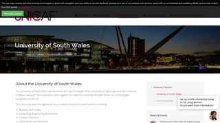 UNICAF - Scholarship Programme | University of South Wales ...
