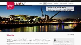 About Us - University of South Wales Online