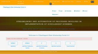 Chhattisgarh State Schlarship Portal - mpsc.mp.nic.in