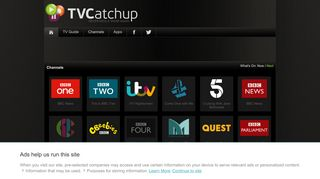 TVCatchup - Channels